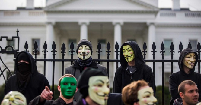 Anonymous Attempts To Organize The Largest Global Protest In History