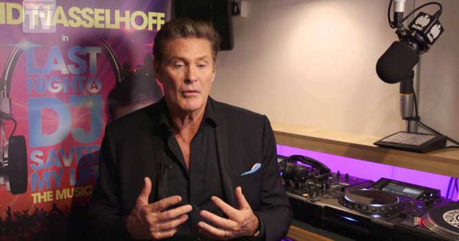 Watch David Hasselhoff Play A Cheesy Ibiza DJ In New Musical