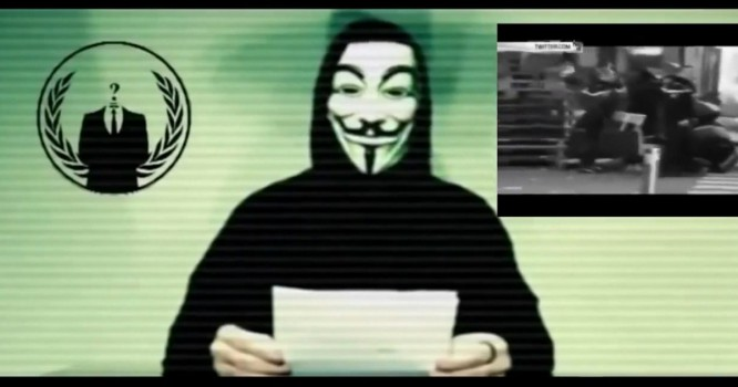 Anonymous Declares War on ISIS, Takes Down 5,500 Twitter Accounts