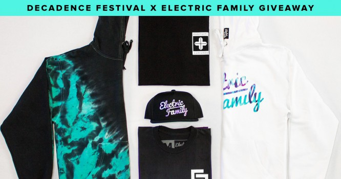 Win Tickets to Decadence Festival & Electric Family Winter Merch!