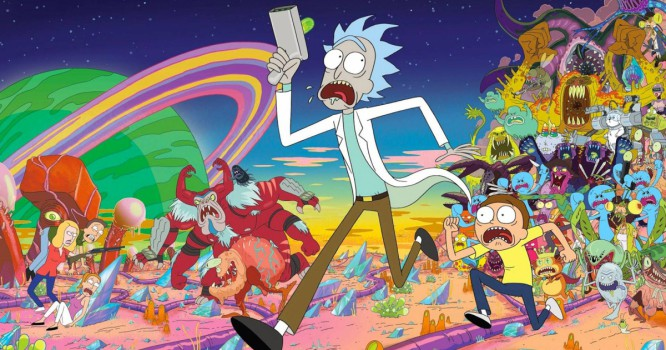 Comedian Makes 'Rick & Morty' Dance Music Album [VIDEO]