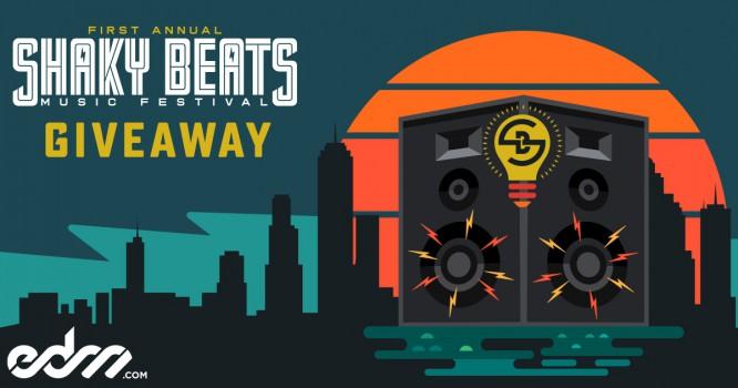 Win a Trip to Shaky Beats Festival & See Major Lazer, Odesza, Nas, & More!