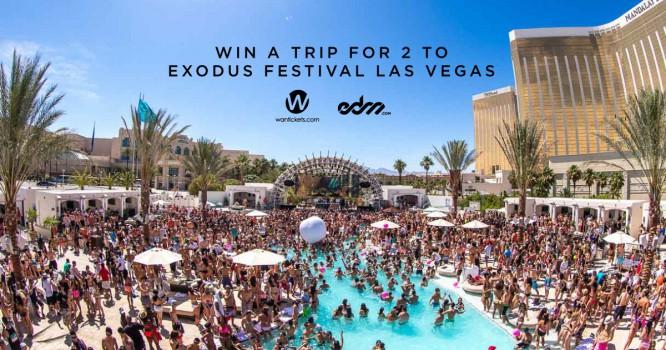 EDM.com & Wantickets Are Sending You To Exodus Festival Las Vegas!