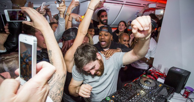 This Flight to One of EDM's Biggest Fests is a Non-Stop Party [VIDEO]