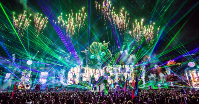 The Sounds of the Very First Electric Daisy Carnival
