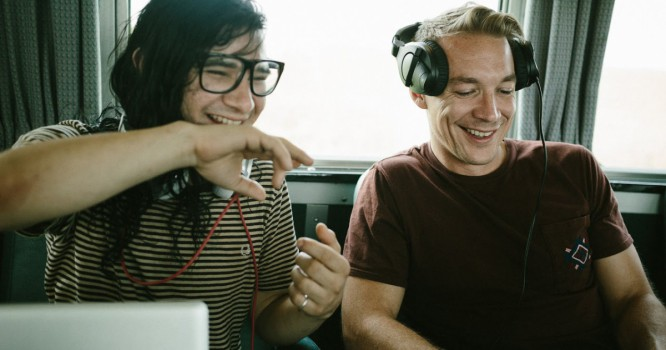 Skrillex and Diplo Tease New Jack U Collab with Florence Welch [VIDEO]