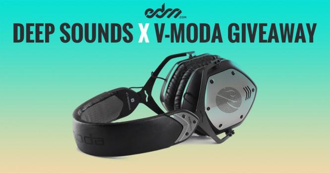 EDM.com Presents: Deep Sounds - Giveaway Featuring Custom V-MODA Headphones