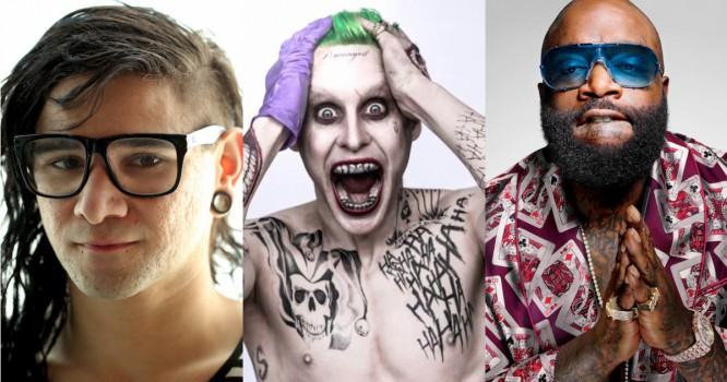 Skrillex Drops New ID With Rick Ross - Is It The Suicide Squad Theme?