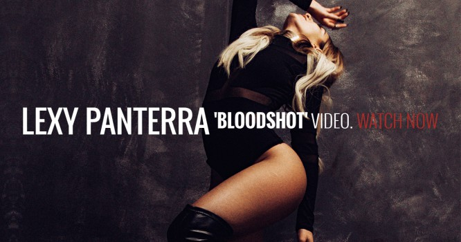 """Lexy Panterra Releases Stunning Video for New Single """"Bloodshot"""" [WATCH]"""