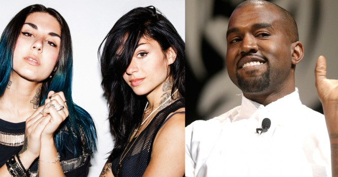 Watch Krewella Takes on Kanye in Clever Freestyle [VIDEO]