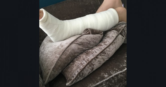 Producer Breaks Leg, Forced to Cancel Shows but Shares Music Instead