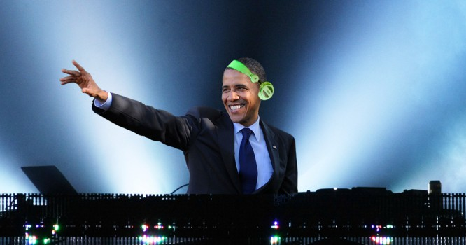 President Obama Just Gave an Epic Shoutout To an EDM Superstar