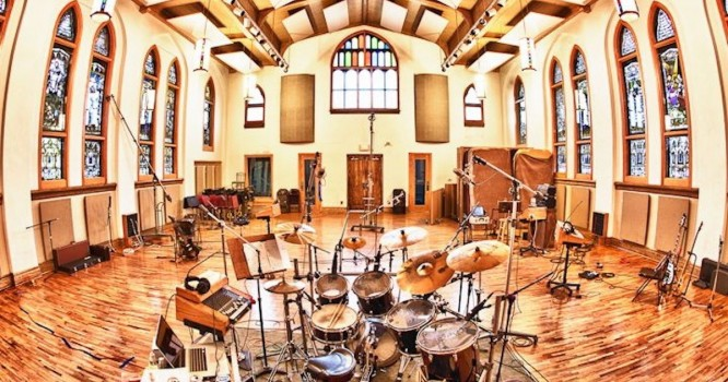Watch These Producers Make Music in an Abandoned Detroit Church [WATCH]