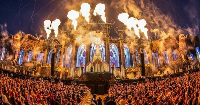 Things Got Lit at EDC Day 2; Bass Pod Stage Caught Fire