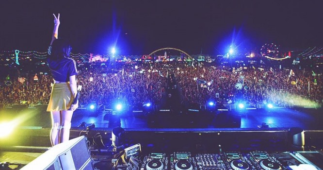 Anna Lunoe Becomes First Solo Female to Crush EDC LV Mainstage [WATCH]