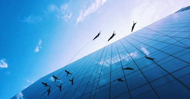 Watch This Vertical Dance Troupe Perform Death-Defying Art [VIDEO]