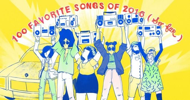NPR Music's 100 Favorite Songs Of 2016 (So Far)