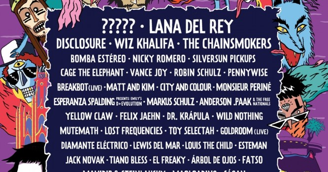 Lollapalooza Colombia Reveals Inaugural Lineup