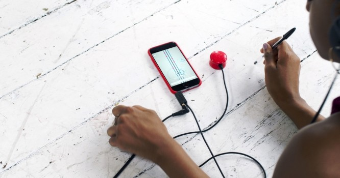 Mogees Play turns any surface into a music and gaming device