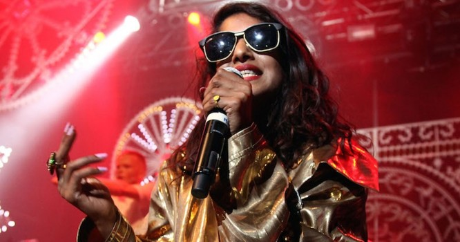 "M.I.A. Shares Lyrics for New Song With Skrillex ""Go Off"""