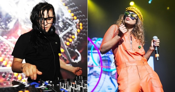 "Rapper M.I.A  Releases Skrillex Collab in New Video ""Go Off"" [Watch]"