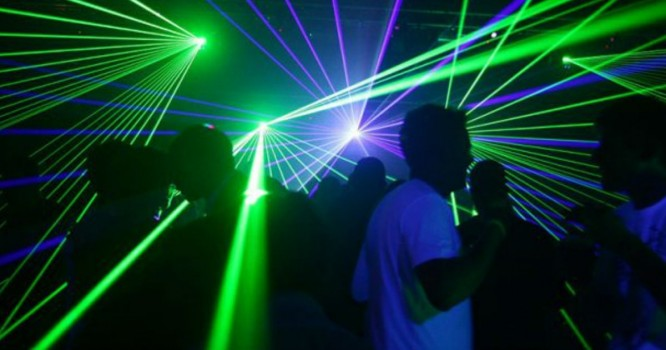 Turn Your House Party Up With Your Own Custom Laser Show