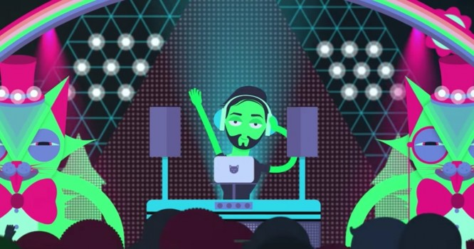 Spotify's first original videos are boring behind-the-music cartoons