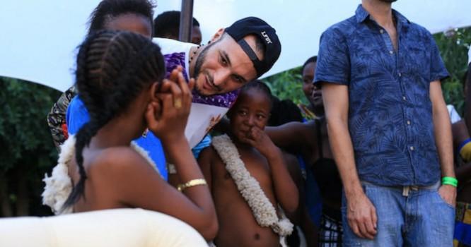 Loco Dice da de nuevo como socio para Centro Juvenil de Sudáfrica