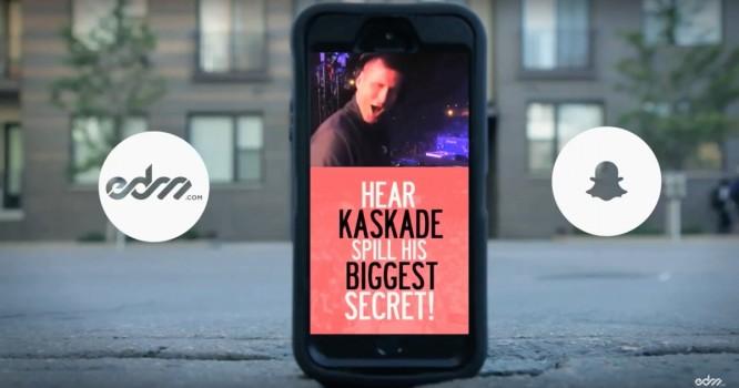 Kaskade Spills His Biggest Secret - EDM.com + Brother Snapchat Discover