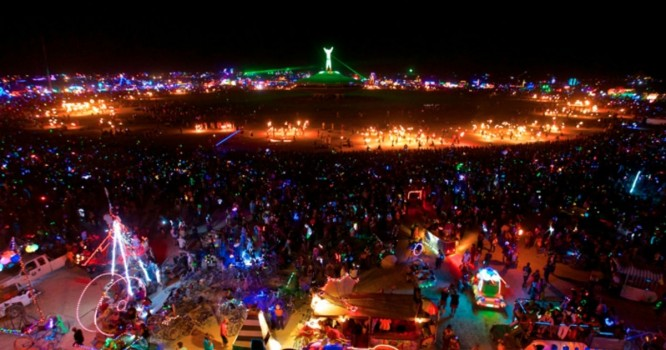 First Burning Man Sets Announced, Including Skrillex, Diplo, and Rusko