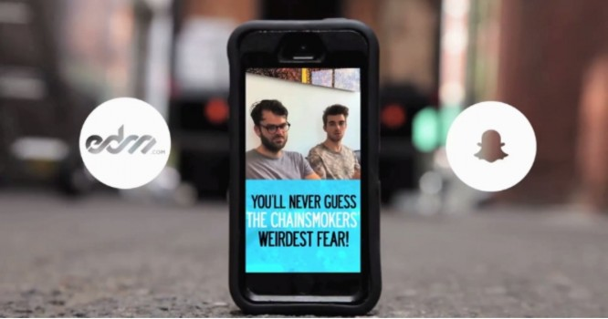 You'll Never Guess The Chainsmokers Weirdest Fear - EDM.com x Brother Snapchat Discover
