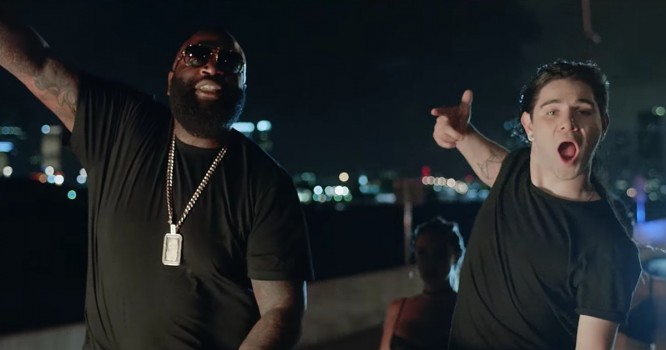 Rick Ross Talks About Another Skrillex Collab for New Project