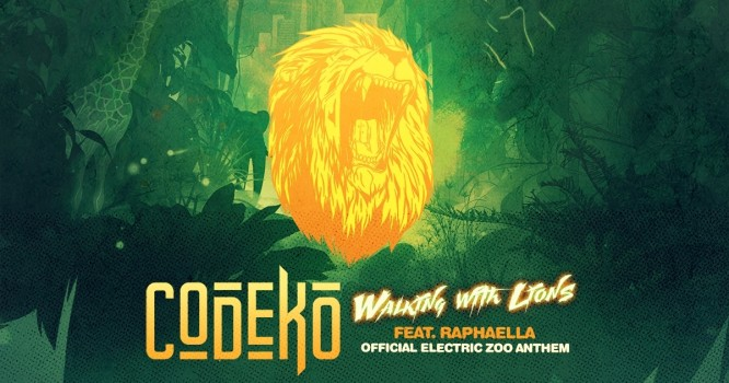 Get Ready for a Wild Weekend with Codeko's 'Walking with Lions'