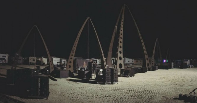 Vandalism Reported at Large Burning Man Camp