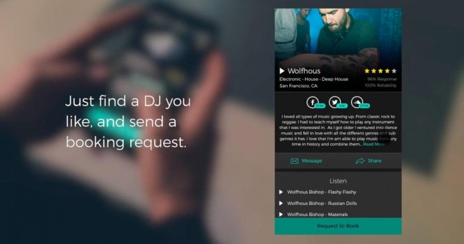 A Strange New App Wants to Disrupt the DJ Booking Economy