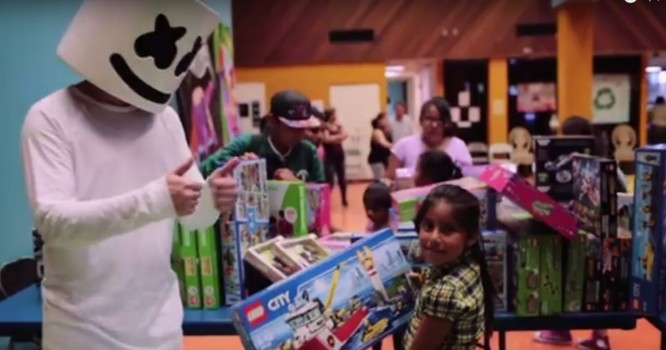 Marshmello Teams Up with Electric Family to #DoGood [WATCH]