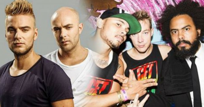 """Major Lazer & Showtek Team Up for the Follow Up to """"Cold Water"""""""