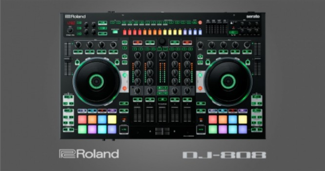 Roland Debuts its First Ever DJ Controller with the New DJ-808 [WATCH]