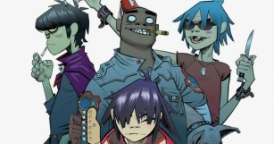 Watch Murdoc and 2D from Gorrilaz Interview Live with Electronic Beats!