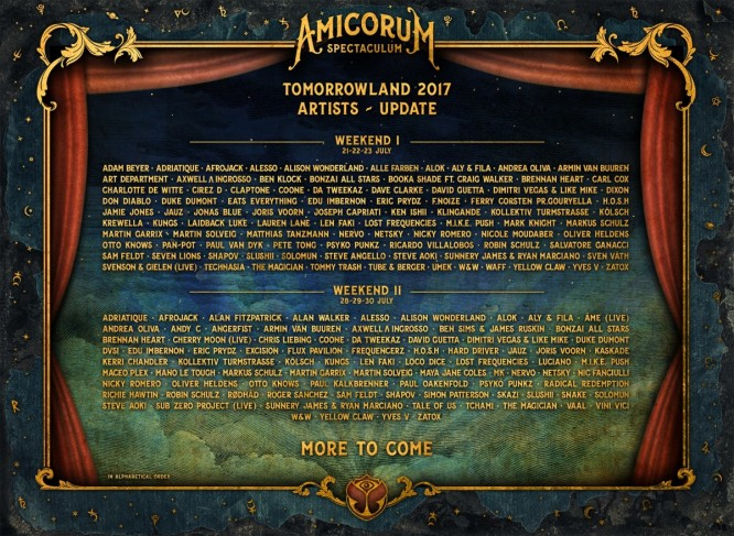 deadmau5, Fatboy Slim, Marshmello, Seth Troxler & More Join Tomorrowland Lineup