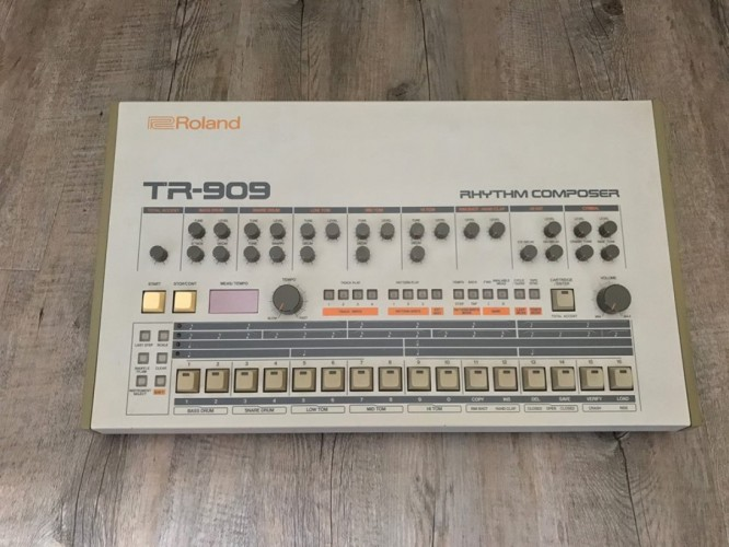 Daft Punk Is Selling Their Roland TR-909