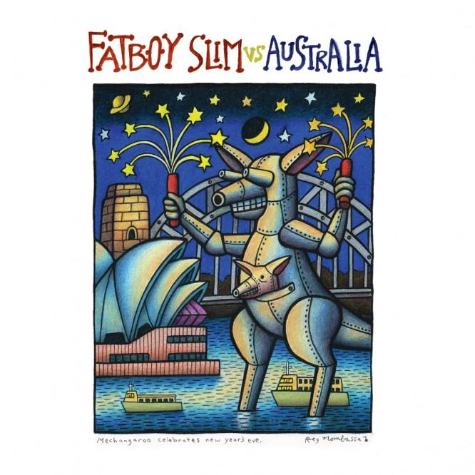 Fatboy Slim Releases 'Fatboy Slim vs Australia Remix' EP with Northlane, Carmada & More